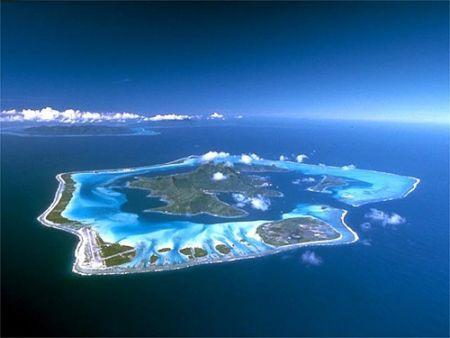Французская Полинезия, остров Бора Бора